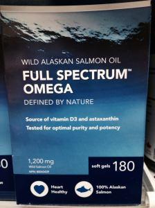 fish oil label