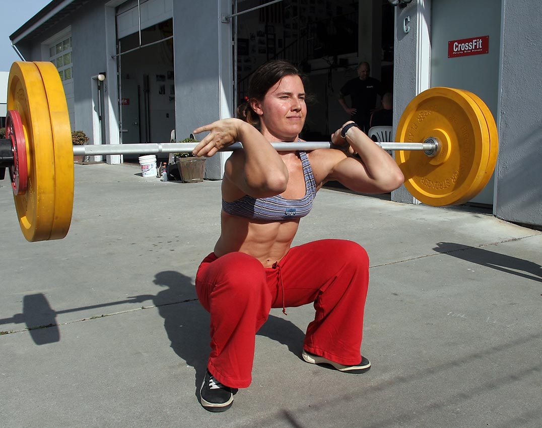 Weightlifting-Squats-Front