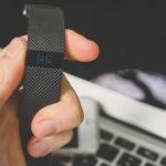 Fitbit Closeup